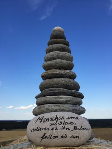Menschen sind wie Steine